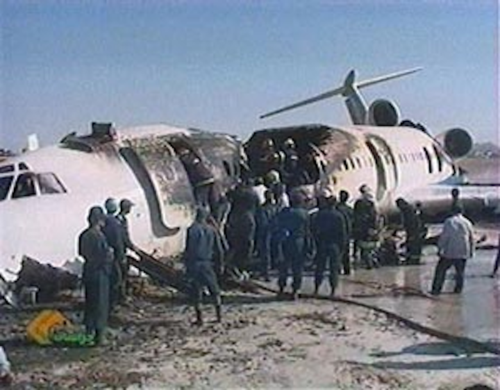 Passenger Plane Catches Fire on Landing in Iran; 80 Dead ...