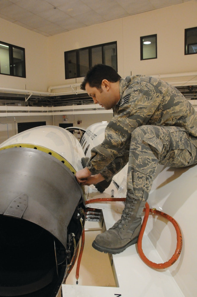 A New Experience  Military Learjet Maintenance