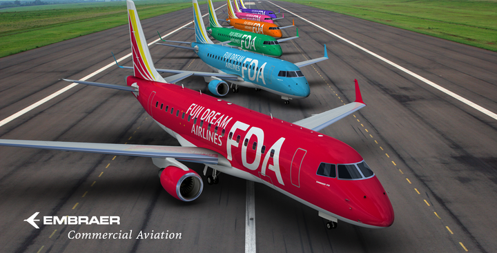 Fuji Dream Airlines Orders Two More EMBRAER 175 Jets   Aviation Pros