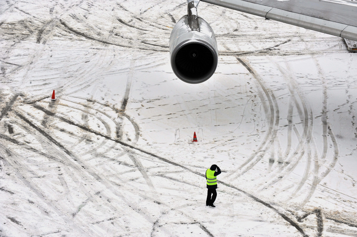 Dealing With Winter Weather On The Ramp | Aviation Pros