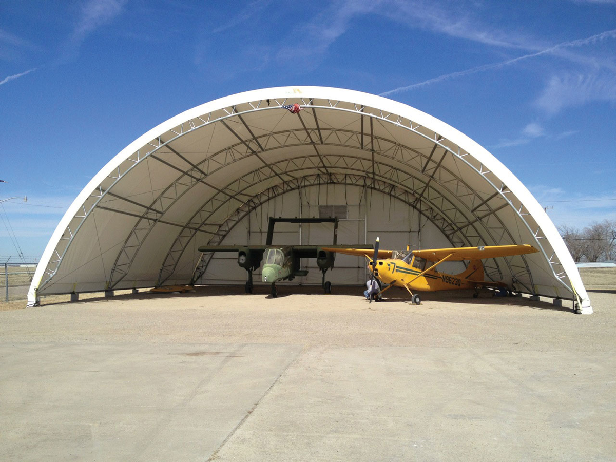 Fabric Structures Provide a Useful Option for Airplane Hangars | Aviation  Pros