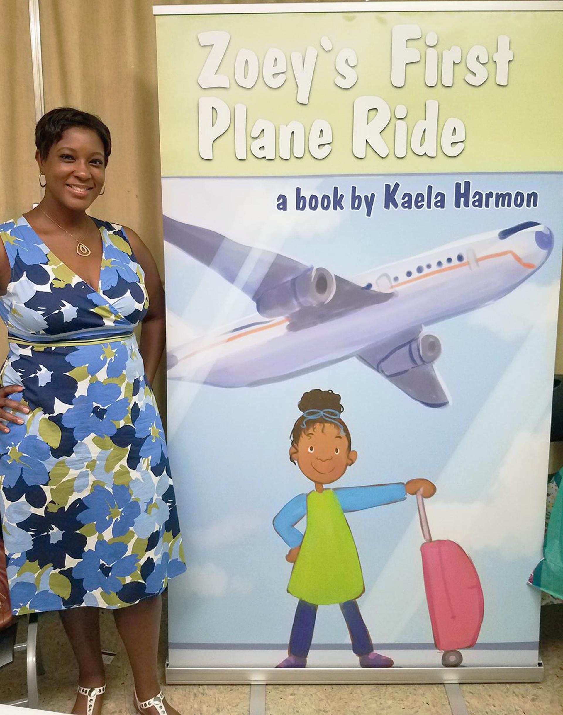 Zoeys First Plane Ride