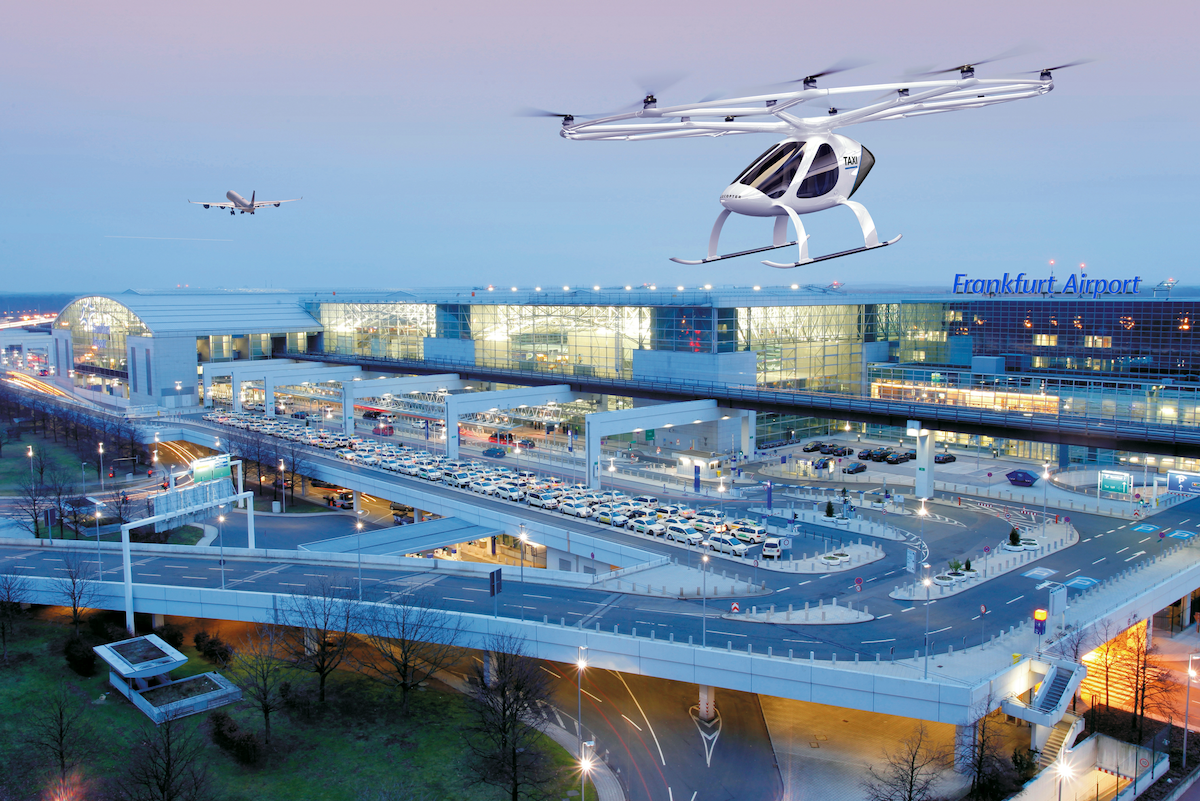 Mobility of the Future: Fraport and Volocopter are Developing Airport Infrastructure and Passenger Processes for Air Taxi Services | Aviation Pros