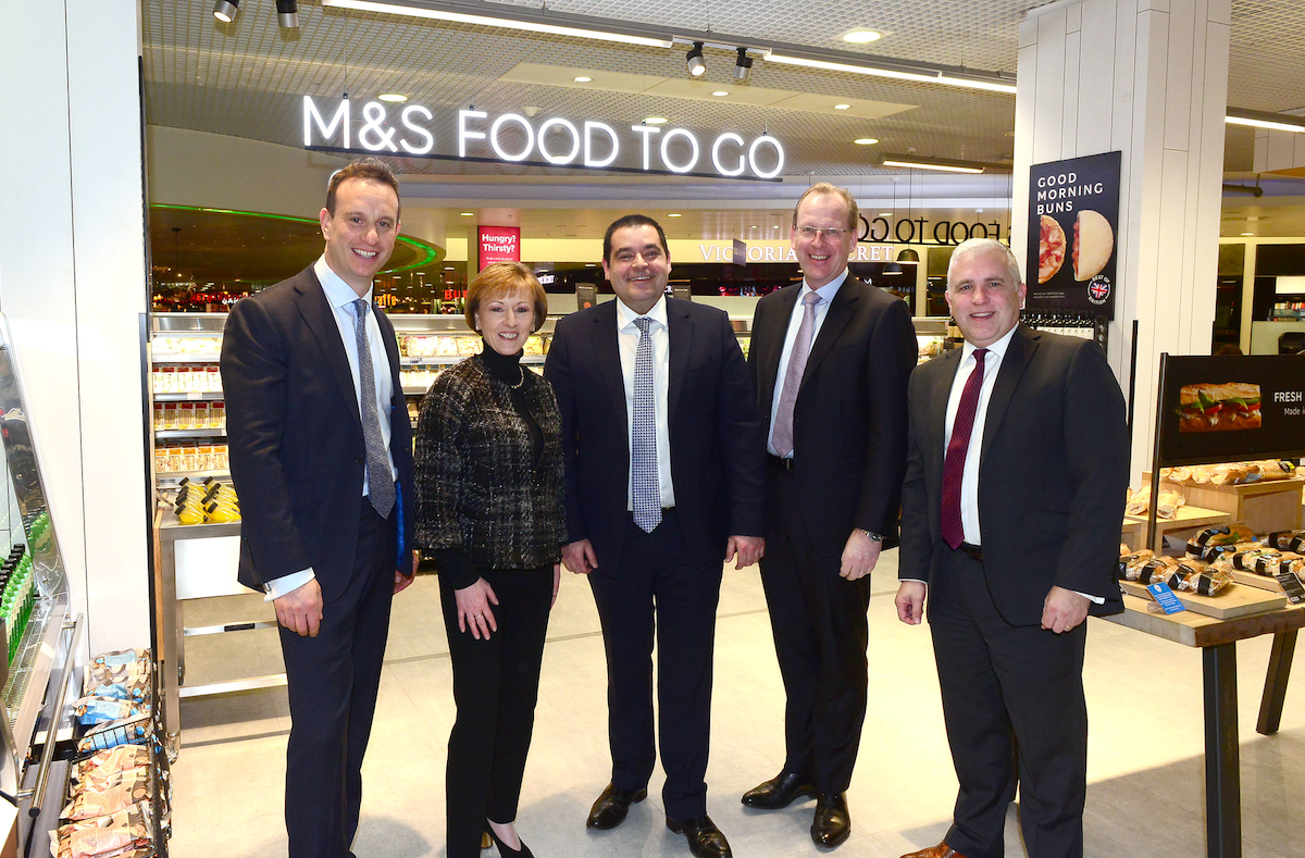 Ssp And Birmingham Airport Open First Airside M S Food To Go Aviation Pros